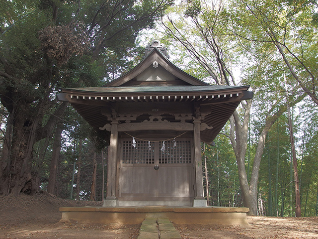 稲荷森稲荷社(川崎市麻生区)写真