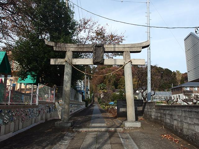 月読神社(川崎市麻生区)写真