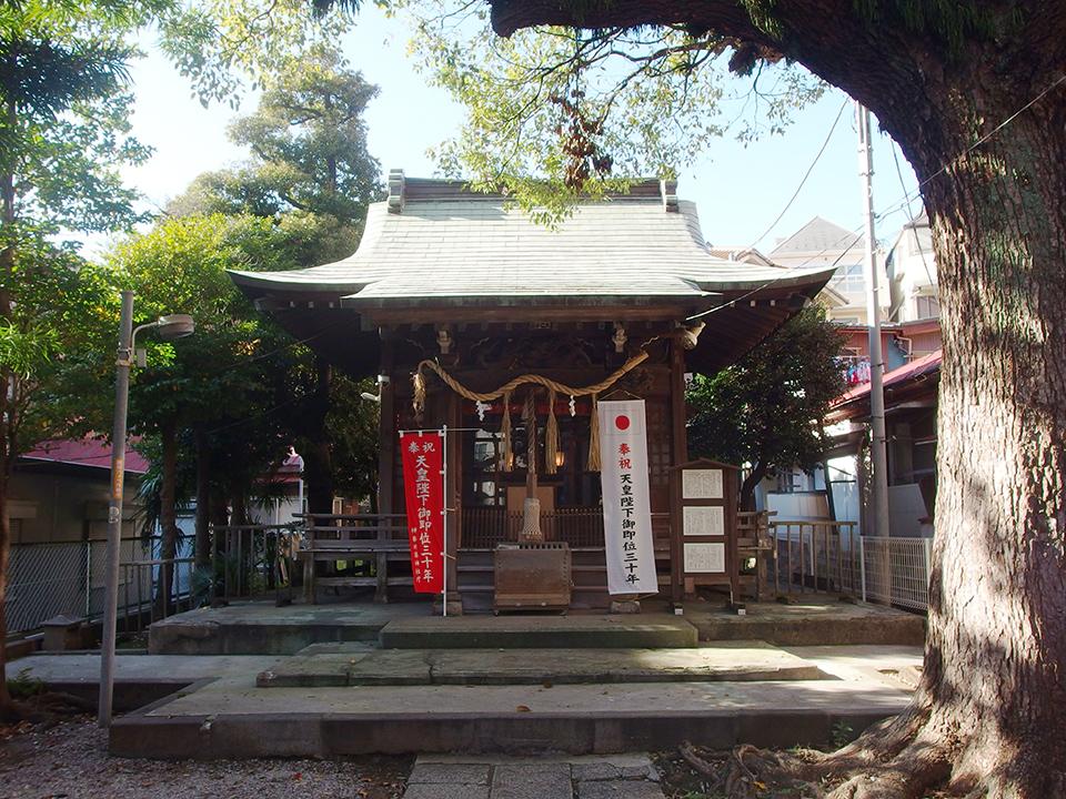 子神社(横浜市中区日ノ出町)