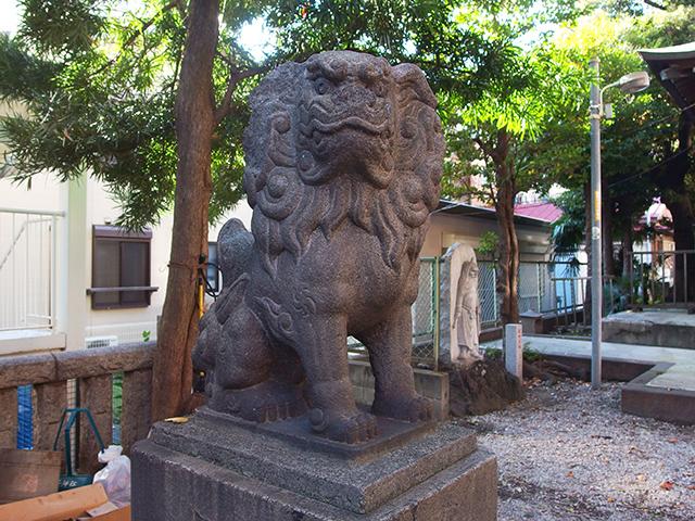 子神社(横浜市中区日ノ出町)写真