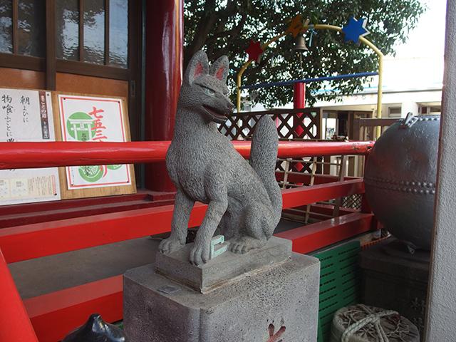 堀之内稲荷神社写真