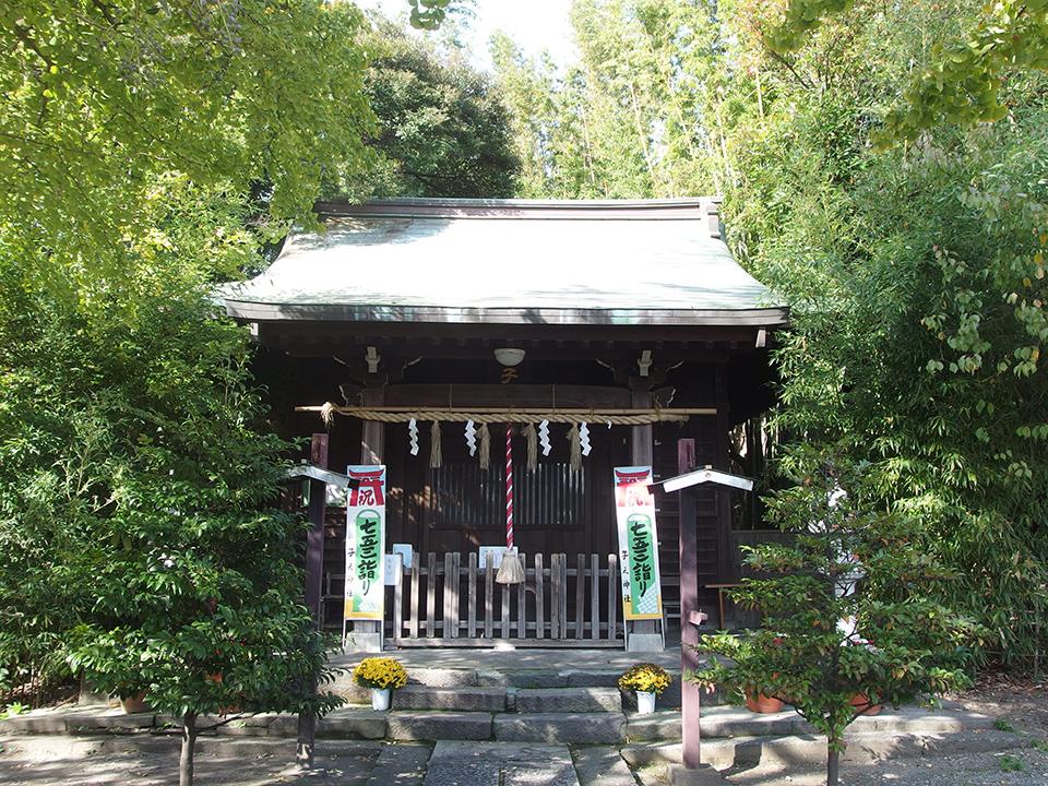 子之神社(横浜市南区堀ノ内町)