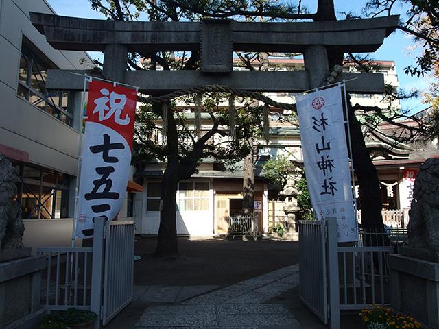 蒔田杉山神社写真