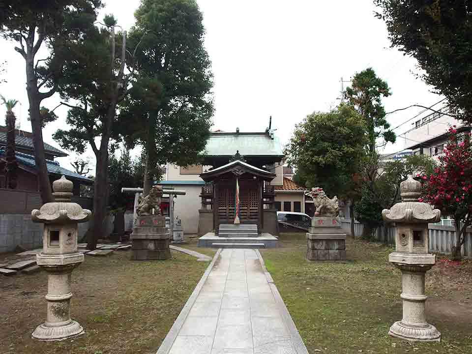 大山祇神社(横浜市鶴見区)