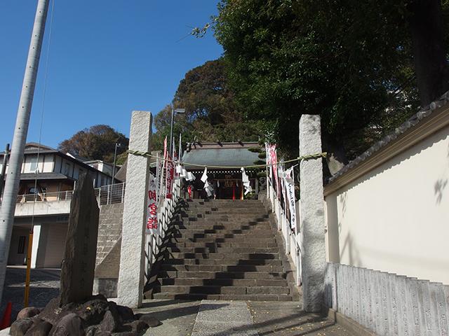 横濱水天宮・太田杉山神社写真