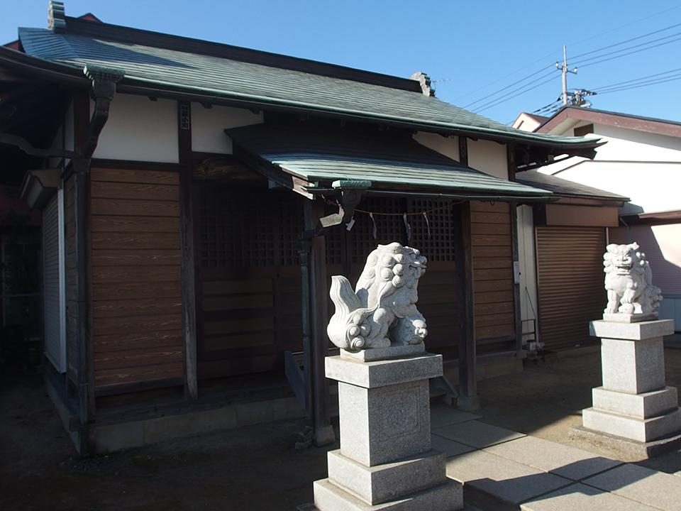 熊野神社(川崎市高津区明津)