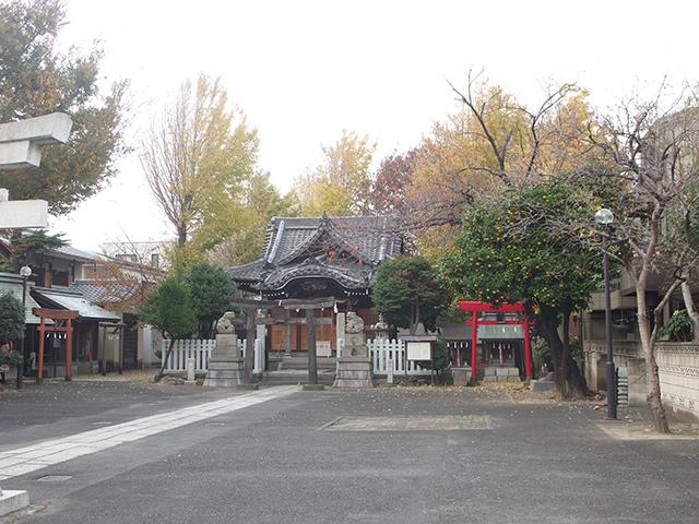 新田神社(川崎市)写真