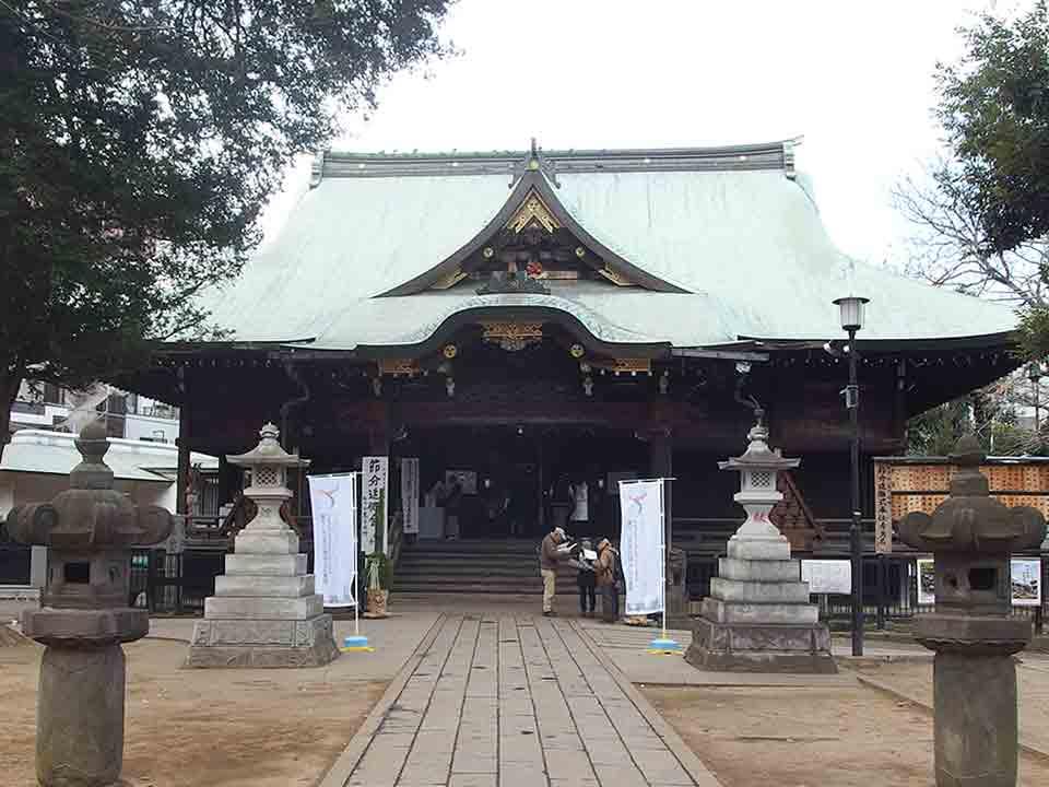 鬼子母神堂(豊島区雑司が谷)