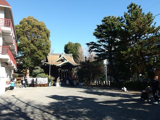 住吉神社(川崎市中原区木月)写真