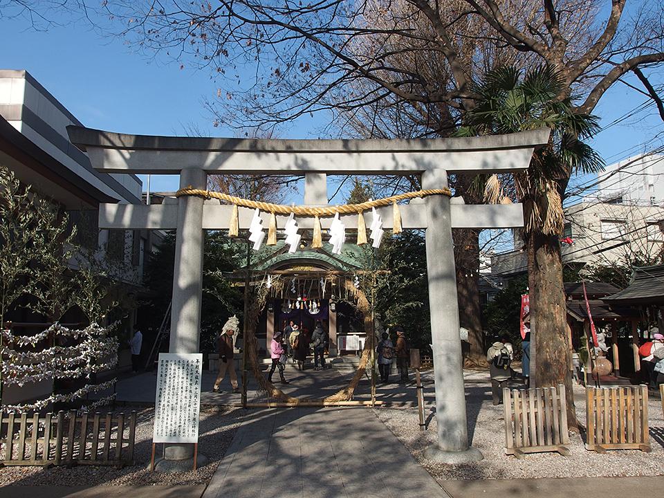 大鳥神社(豊島区雑司が谷)