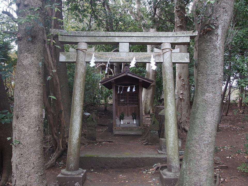 稲荷神社(大和市深見)