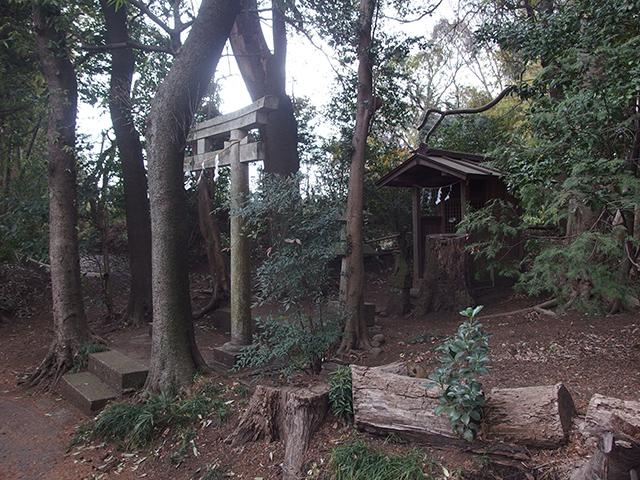 稲荷神社(大和市深見)写真