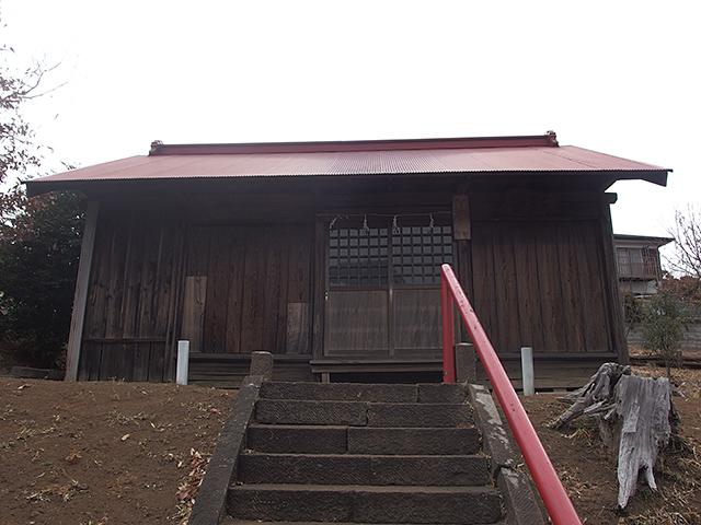 妙法稲荷神社(大和市深見)写真