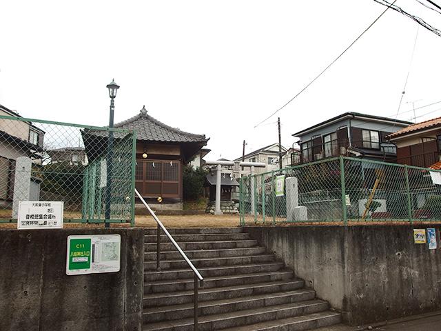 八坂神社(大和市深見)写真