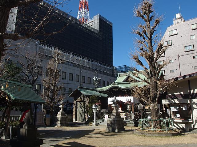 千束稲荷神社写真