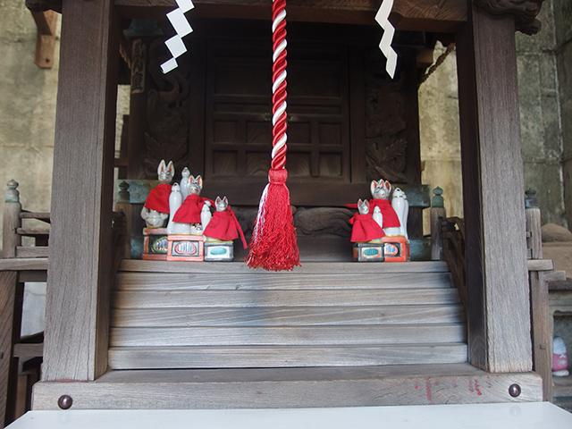 弦巻稲荷神社(文京区目白台)写真