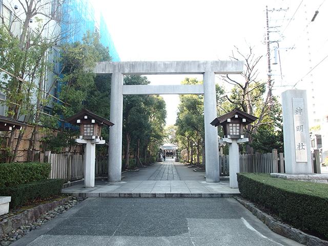 神明社(横浜市保土ケ谷区)写真
