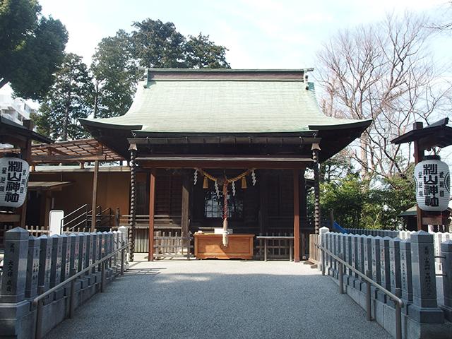 星川杉山神社写真