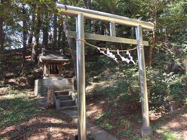 八所神社(横浜市都筑区池辺町)写真
