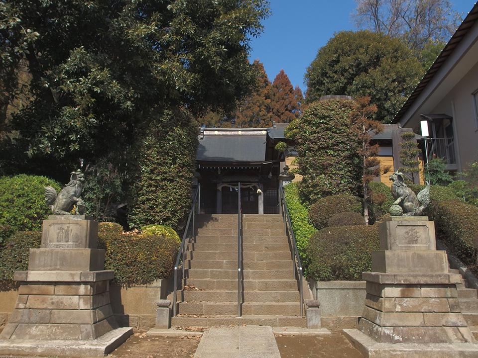 杉山神社(横浜市都筑区池辺町)