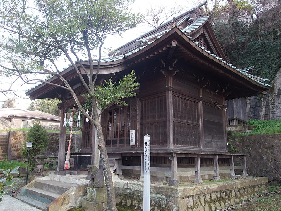 杉山神社(保土ケ谷区西久保町)