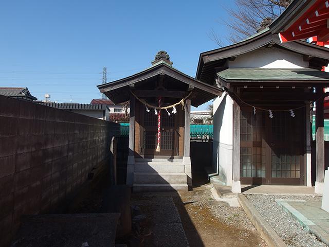 川向稲荷神社写真