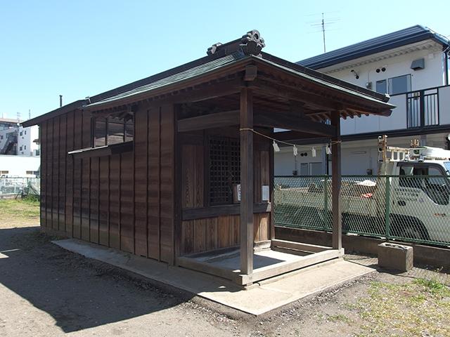 稲荷神社(川崎市多摩区長尾)写真