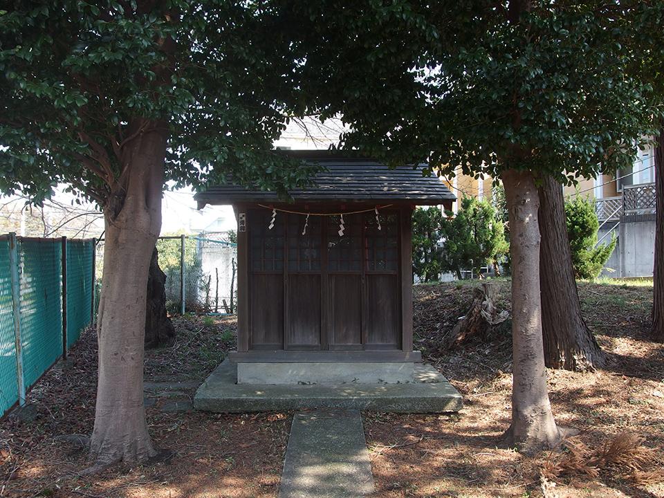 山王神社(横浜市都筑区佐江戸町)