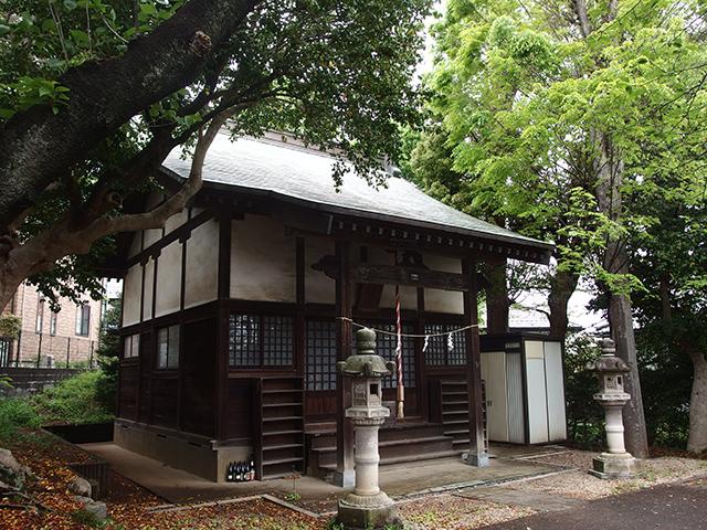 神明社(横浜市青葉区あざみ野)写真