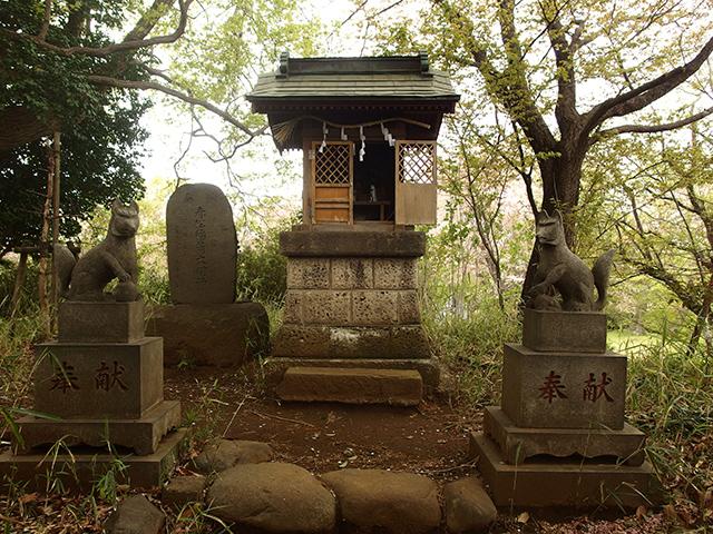 赤松稲荷大明神(下作延稲荷塚古墳)写真