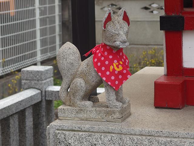 保谷稲荷神社写真