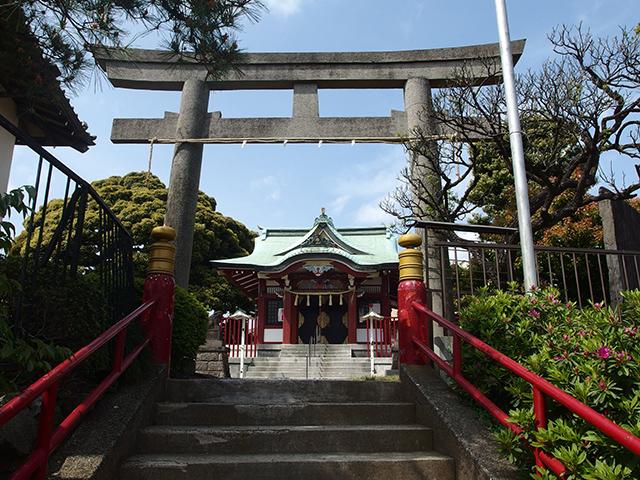 末長杉山神社写真