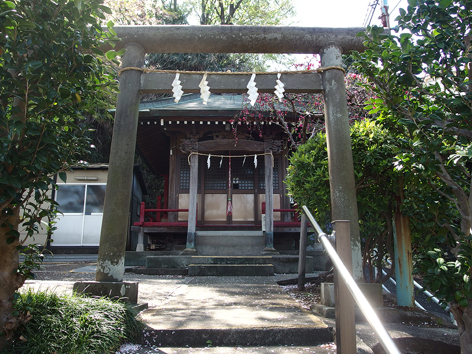 辰の谷稲荷社