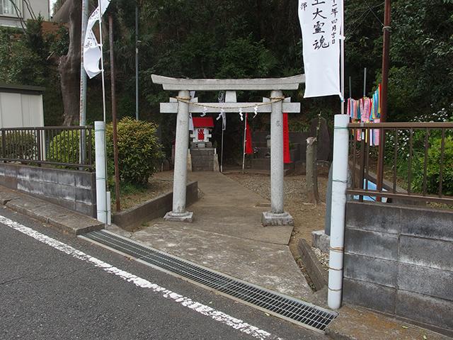 津田山辯財天写真