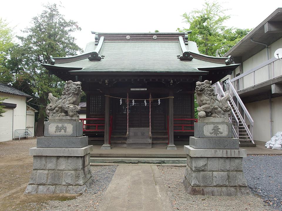神明神社(川崎市中原区上小田中)