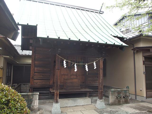 葛原神社(品川区荏原)写真
