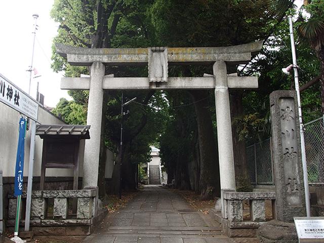 桐ヶ谷氷川神社写真