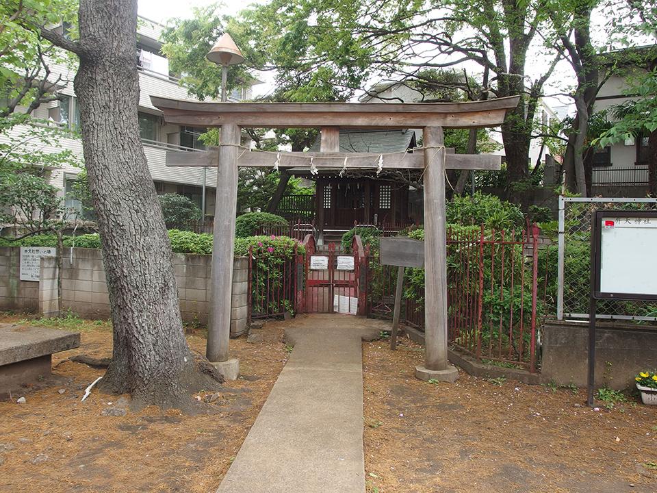 嚴島神社(品川区小山)