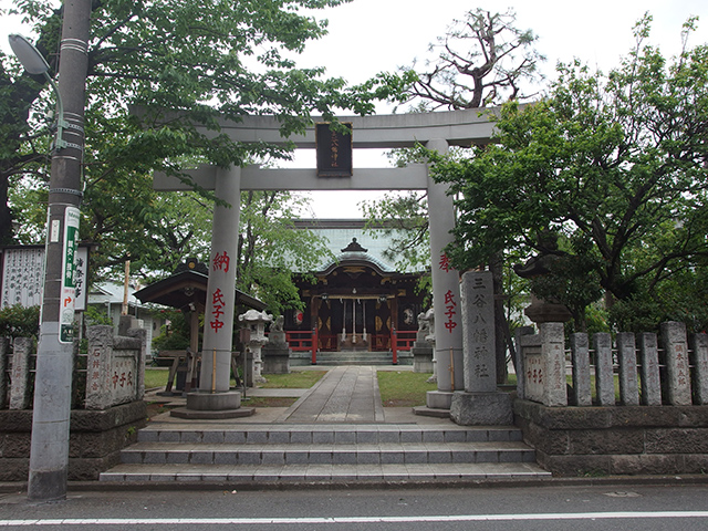 三谷八幡神社写真