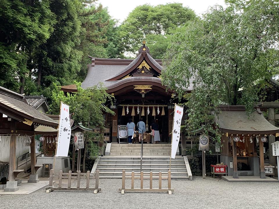 子安神社(八王子市)
