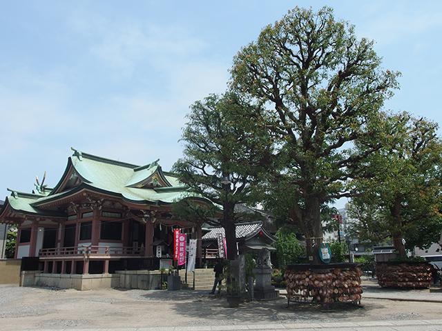 今戸神社写真