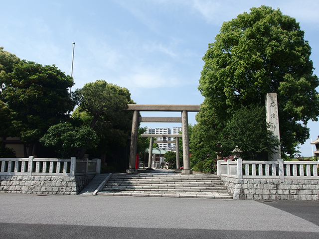 石浜神社写真