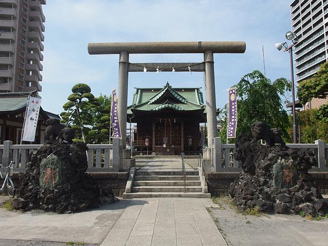 胡録神社写真