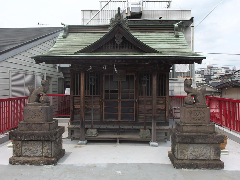 出世稲荷社(八王子市寺町)