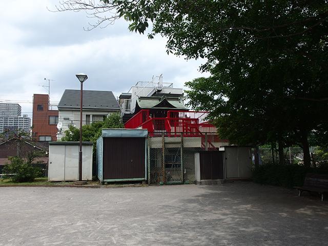 出世稲荷社(八王子市寺町)写真