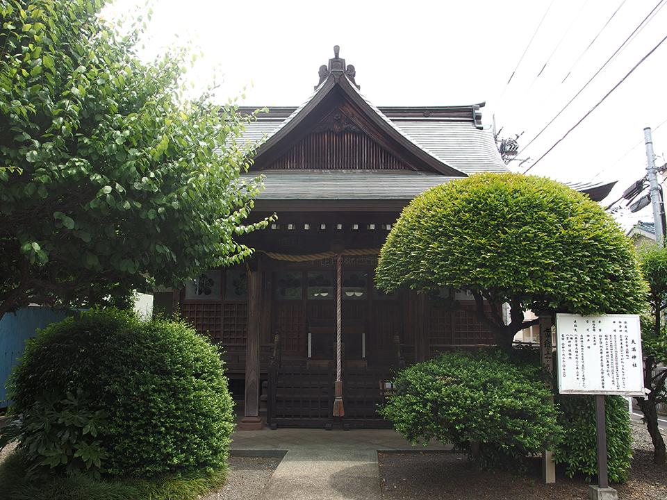天満神社(八王子市上野町)