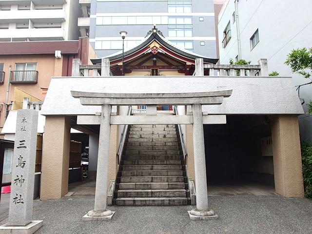 本社三島神社(寿三島神社)写真