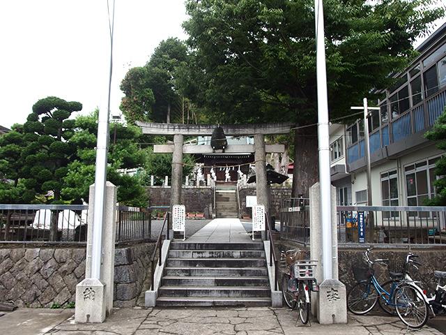 諏訪神社(横浜市港北区箕輪町)写真