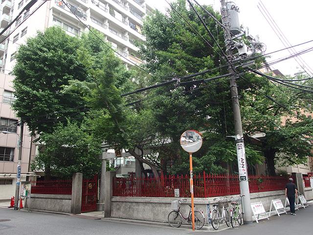 西浅草八幡神社写真