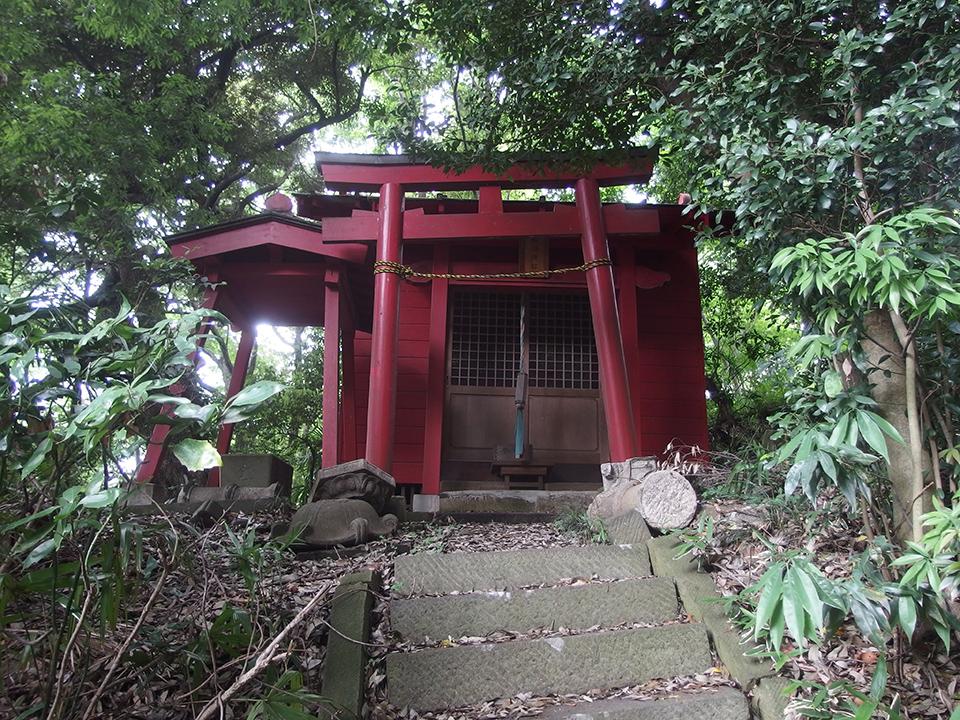 稲荷神社(横浜市港北区綱島台)
